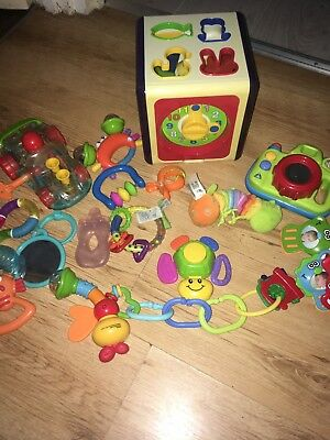 Big Bundle Of Baby Toys Mothercare, Elc, Tiny Love