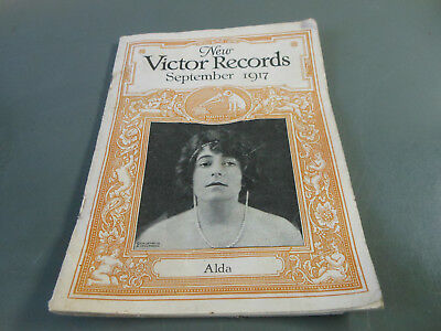 Victor Records catalog September 1917