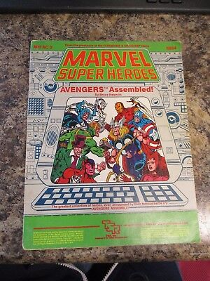 Tsr Marvel Super Heroes Avengers Assembled #6854    Fast / Free Shipping