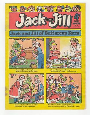 Jack and Jill Comic - No 45 - 1st Jan 1955 -  SCARCE! CHRISTMAS ISSUE!!