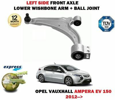 For Opel Vauxhall Ampera Ev 150 2012-> Left Wishbone Suspension Arm + Ball Joint
