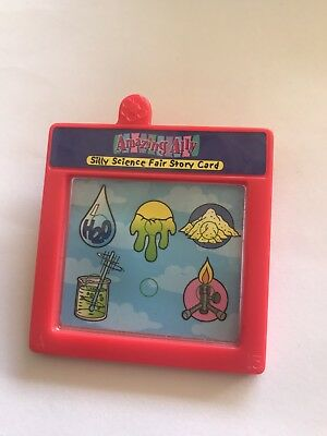 "Amazing Ally 18"" Interactive Doll Electronic Silly Science FaIr Game Story Card"