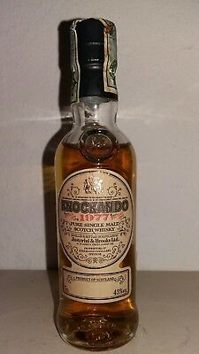 Miniature Mignon Knockando  Whisky Single Malt 1977 Bottled 1990
