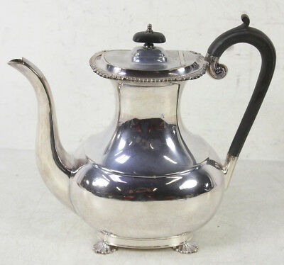 Vintage Harrods Of London Silver Plated Tea Pot