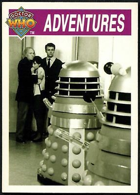 """""""The Daleks""""  #115 Doctor Who Series 2 Cornerstone 1995 Trade Card (C706)"""