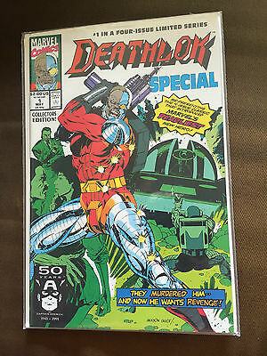 Deathlok Special #1 (June 1991) Vfn+ Marvel Comics - First Issue!!