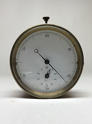Mega Rare United States Lighthouse Board Inspector's Stopwatch? US USA. Brevete.