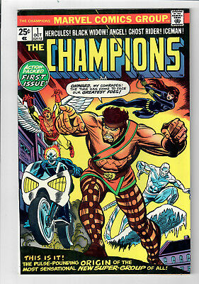 CHAMPIONS #1 - Grade 9.0 - Gil Kane cover!