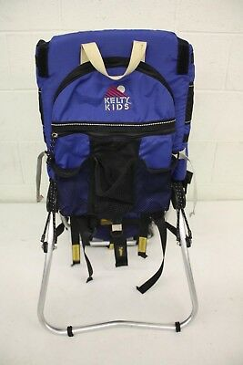 Kelty K.I.D.S. Elite Kid Carrier/Baby Backpack +Rain/Sun Shade EXCELLENT LOOK