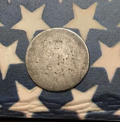 1809-1837 10C Capped Bust Dime 90% Silver Vintage US Coin #FH43