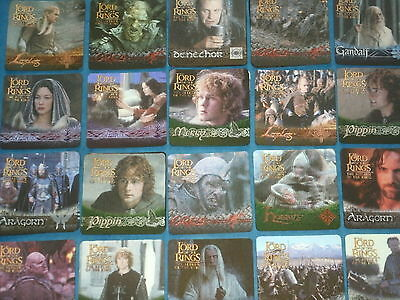 The Lord Of The Rings 'THE RETURN OF THE KING'  3D Action Flipz Trading Cards