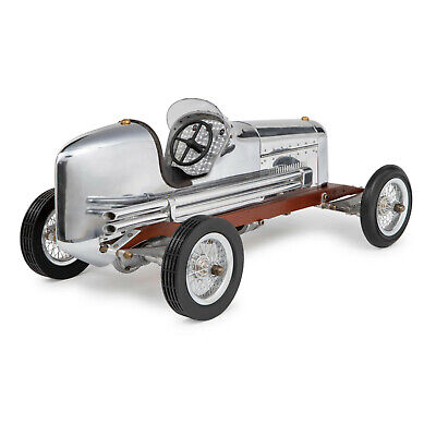 "Tether Car Bantam Midget Aluminum Model 1930s Replica Spindizzy 19"" New"