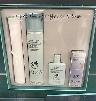 Liz Earle Super Charge Your Glow Gift Set 💕Ideal Xmas Present 💝