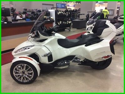 Can-Am Spyder RT  2017 New Can-Am Spyder RT LIMITED Semi-Auto 6 Speed loaded