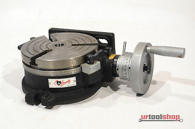 """Grizzly H7527 - 6"""" Rotary Table w/ Div. Plates 7103-274"""