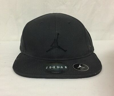 promo code cdd34 2873a Nwt Youth Nike Jordan Jumpman 23 Snap Back Velcro Embroidered Cap Gray 4 7