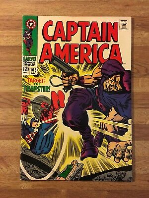 Captain America #108 (Marvel 1968) The Trapster~Jack Kirby~Silver Age~VF/NM 9.0!