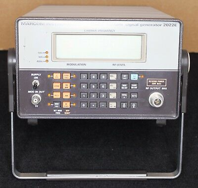 Marconi Instruments 2022E 10Khz/1.01Ghz Signal Generator Tested/working/clean!!