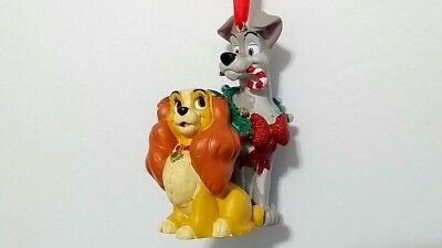 Disney Parks Lady and the Tramp Christmas Ornament NWT