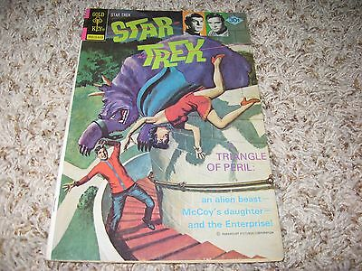 Star Trek #40 (Gold Key, 1976) – Kirk and Spock Photos On Cover – FN/VF