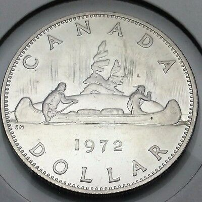 1972 Canada Nickel One Dollar Canadian Coin Not In Case C702