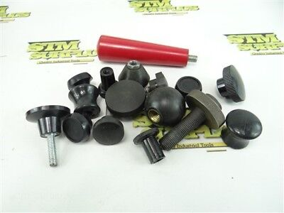 Nice Mixed Lot Of Machine Handle Knobs