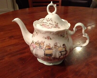 Brambly Hedge Tea Pot Royal Doulton Made In England Perfect Condition