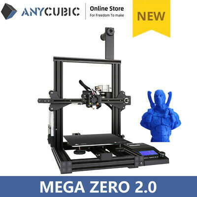 US Stock ANYCUBIC 3D Printer Upgrade Auto Leveling Delta KOSSEL Plus Linear Kit