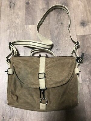 Domke satchel F- 803. Brown Ruggedwear.  Excellent.