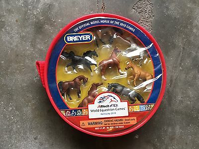 New NIP Breyer Horse World Equestrian Games WEG Mini Whinnies #9125 Collection