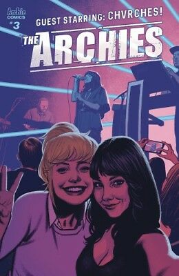 The Archies #3 Cover A  -- Archie Comics 2017, Chvrches