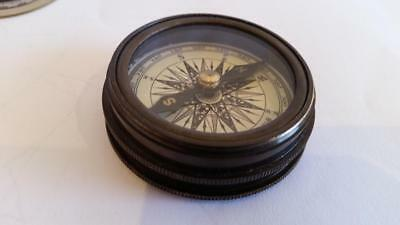 Stanley London Compass with Robert Frost Poem
