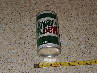 Mountain Dew Vintage All Aluminum Please Recycle 12oz Soda Can