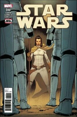 Star Wars #40 Main Cover  -- Marvel Comics 2017, Ashes of Jedha