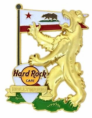 Hard Rock Cafe 2016 Hollywood Crest Regional Series Pin