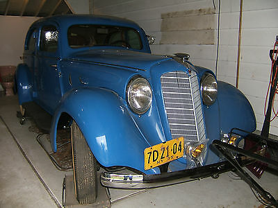 1935 Hupmobile G80 518D Aerodynamic 4 Door Sedan / Restored A Nice Complete Solid Car With No Rust!!