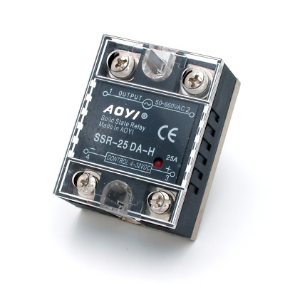Aoyi Solid State Relay - 25A Heavy Duty High Performance -  Dual SCR Output SSR