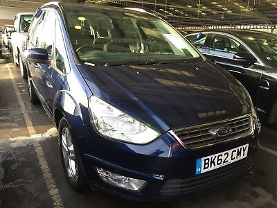 62 Ford Galaxy 2.0 Tdci 140 Zetech Powershift 7 Seats,spares Or Repair Box Iffy