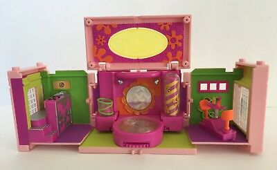 Vintage 1999 Disco Polly Pocket Mansion Dream Builders Room Bluebird