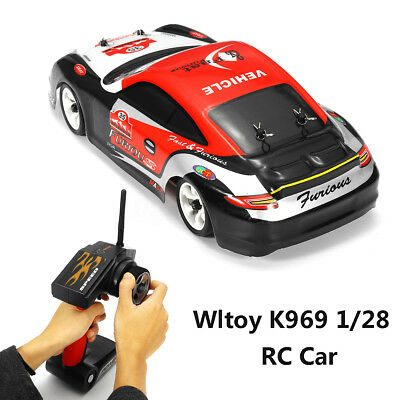 Wltoy K969 1/28 Electronic 2.4G 4WD Brushed High Speed Drift RC Car Kid Toy Gift