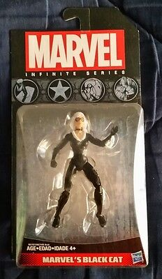 "BLACK CAT - Marvel Infinite Series 3.75"" action figure New Sealed Spider-Man"