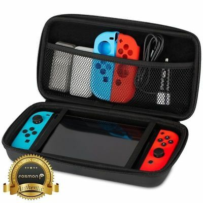Travel Storage Carrying Hard Case Compact Bag Cover for Nintendo Switch US