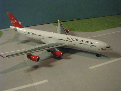 "Dragon Wings Virgin Atlantic ""lady In Red"" A340-311 1:400 Scale Diecast Model"