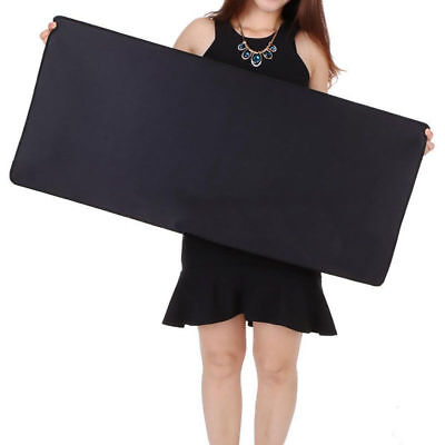 Black Large Gaming Mouse Pad Desk Laptop Computer PC Mice Mat 90x40cmx0.3cm New