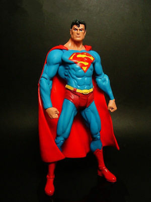 "DC Comic Superman Super Hero Action Figure 7"" Model 18cm Doll Toy"