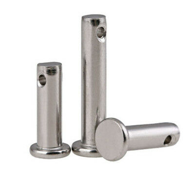 304 Stainless Steel Flat head clevis pins with head M3 M4 M5