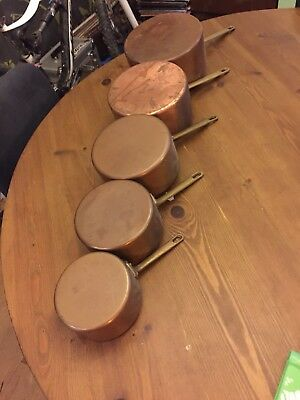 Vintage French Copper Pans
