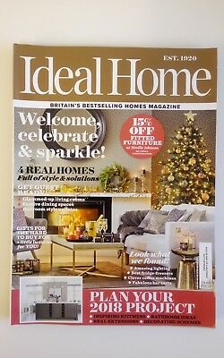IDEAL HOME Magazine January 2018 Design Decorating Furniture
