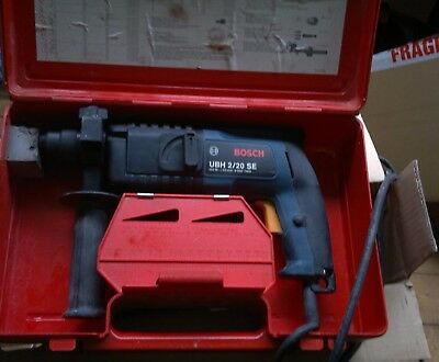 BOSCH UBH 2/20SE   SDS corded electric drill 110V