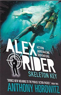 ALEX RIDER MISSION 3 : SKELETON KEY [Paperback] [Jan 01, 2017] Books Wagon By B